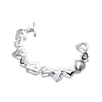 'Young at Heart' Silver Bracelet