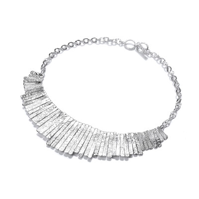 Silver Cleopatra Necklace