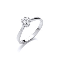 The Perfect Solitaire Ring