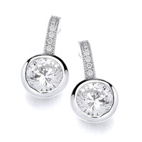 Special Solitaire Stud Earrings