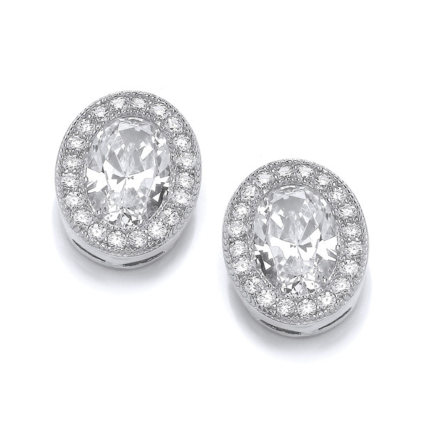 Oval Elegance Earrings