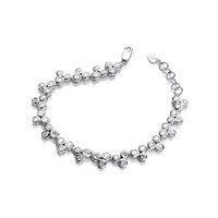 Graceful Dance Cubic Zirconia Bracelet