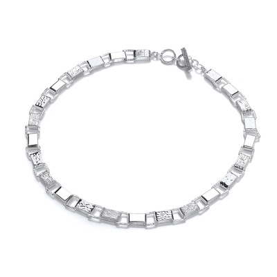 Silver Paperchain Necklace