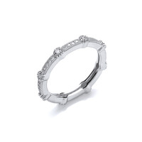 Fine Cubic Zirconia Band Ring