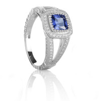 Sapphire Blue Beauty Ring