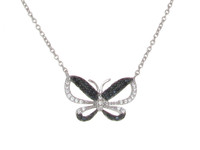 Night Butterfly Necklace