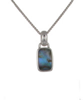 Diddy Abalone Oblong Pendant