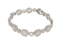 Just Sparkle Sterling Silver Bracelet