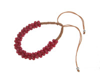 Red Quartz Friendship Bracelet