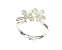 Sterling Silver Ragged Daisies Ring