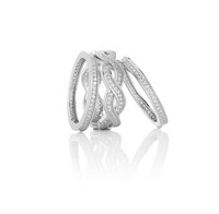 Our Favourite Silver and CZ Stacking Rings