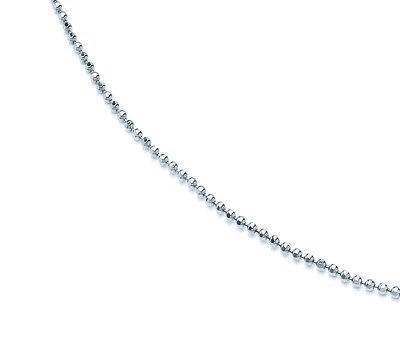 Sterling Silver Popcorn Chain 20-22 Length