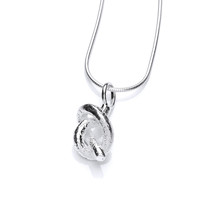 Silver Love Knot Pendant
