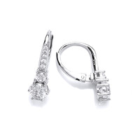 Deco Style Cubic Zirconia Earrings