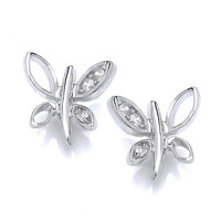 Flyaway Butterfly Earrings
