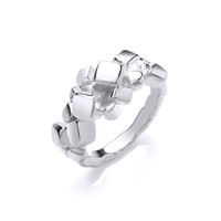 Silver Cubic Ring