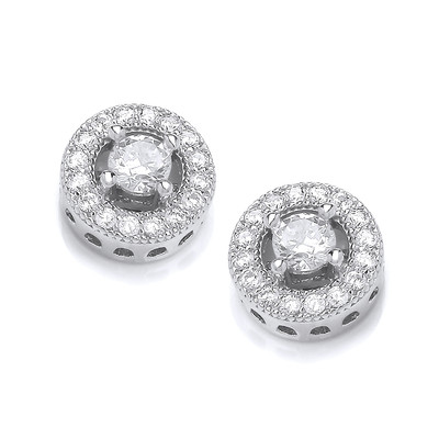 Twinkle Toes Solitaire Earrings