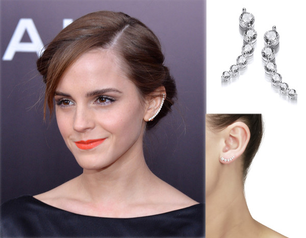 Emma Watson Earring Glamour Cavendish French Limited