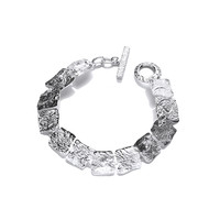 Silver Interlocking Bracelet