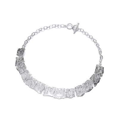 Silver Interlocking Necklace