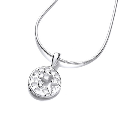 'You Little Star' Silver Pendant