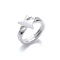 Silver 'Starry Night' Ring