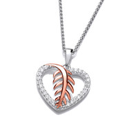 Feathered Heart Pendant