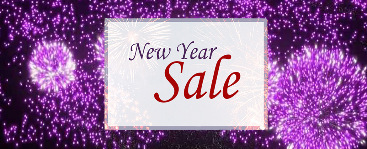 1/2 Price New Year Sale