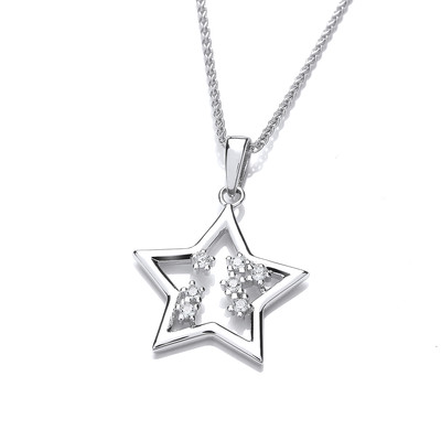 You're a Star Cubic Zirconia Pendant
