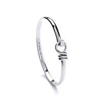 Hinged or Clasp Silver Bangles