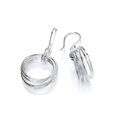 Silver Rings Hoop Earrings