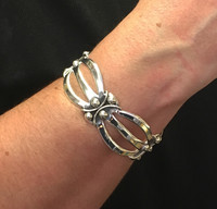 Navajo Silver Cuff Bangle